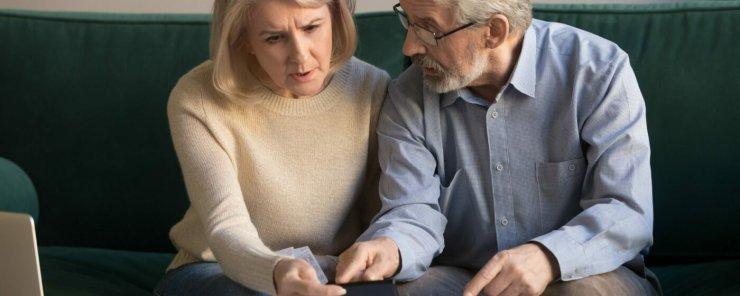 Starší manželský pár je znepokojen ze zvýšení nájemného