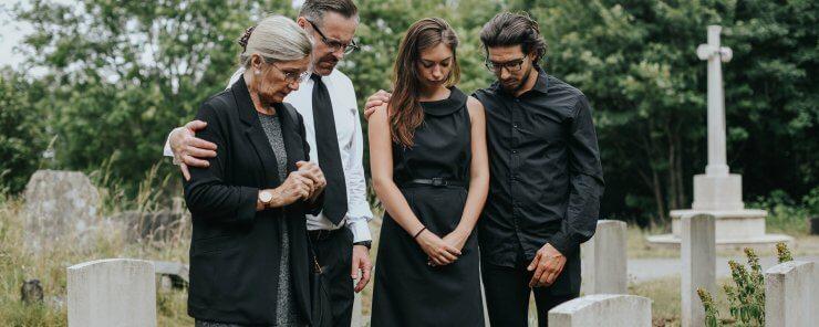 Dědicové na pohřbu řeší dědictví
