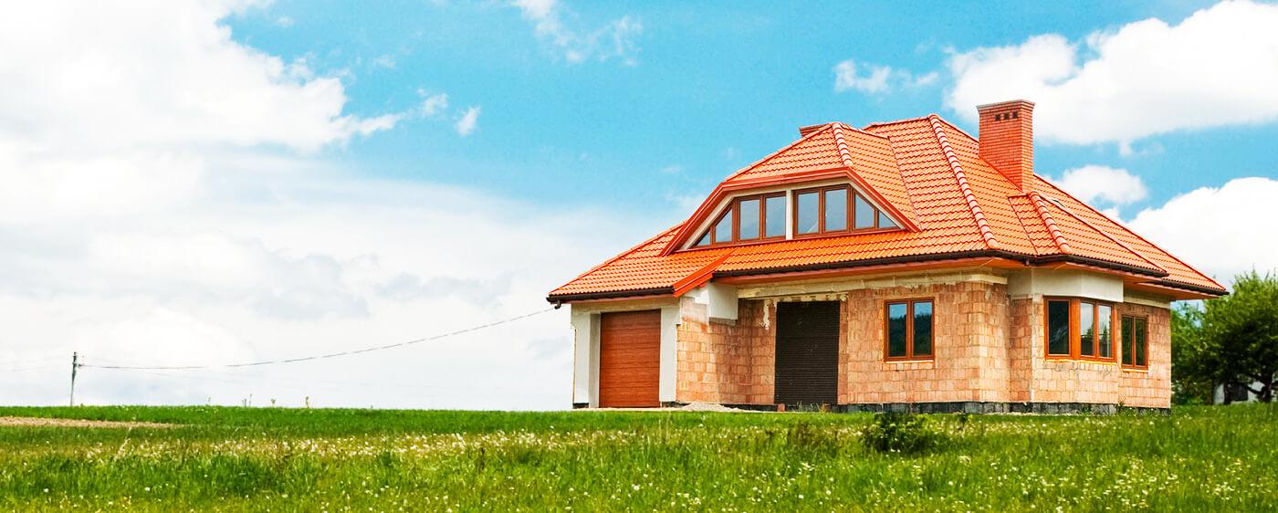 Dům nově postavený po prodeji stavebního pozemku