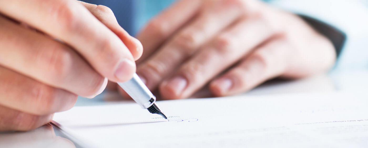 Podepsaná smlouva o spolupráci mezi OSVČ